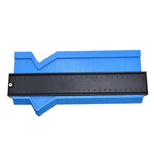 "10"" Blue shape Copy Duplicator-Plastic Profile Saker Contour Duplication Gauge"