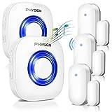 Best Door Alarms - Door Alarm Wireless Door Chime PHYSEN CW-3TW Window Review