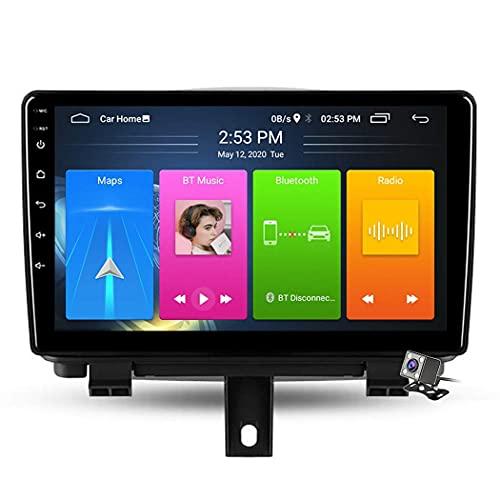 Android 9.1 Navigazione Stereo per Auto con Touch Screen da 9 Pollici per Audi Q3 2011-2018 Car Entertainment Multimedia Radio WiFi/4G Tethering Supporto Internet RDS DSP FM BT