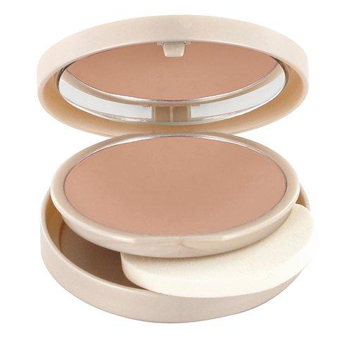 LOGONA Naturkosmetik Natural Make-up perfect Finish No. 02 Light Beige, Heller Hautton, Foundation, mit Anti-Aging-Wirkung, mittlere bis hohe Deckkraft, Bio-Extrakte, 9 g