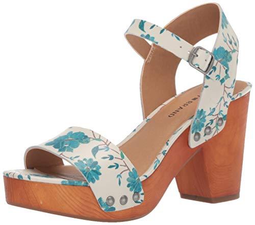 Lucky Brand Women's Trisa Heeled Sandal, Birch, 8.5 M US