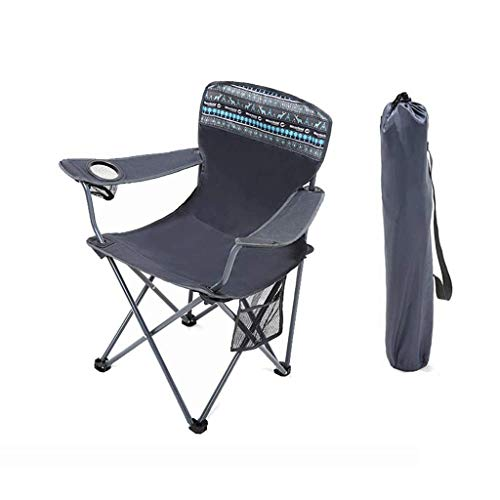 N/Z Living Equipment Folding Camping Chair Portable Carry Bag for Storage and Travel Best Durable Outdoor Quad Beach Chairs Comfortable Arms Space Saving Lightweight Great for Transport