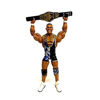 WWE Elite Collection Jason Jordan Action Figure  with NXT Tag Team Championship Belt