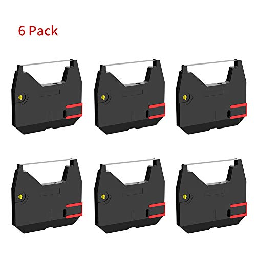 Bigger 6-Pack Replacement for Brother 1030 Correctable Ribbon Used with Brother All AX, GX, ML, SX, WPT, ZX Series and Models