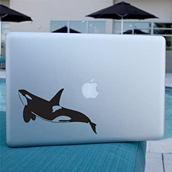 Wall or Laptop Sperm Whale Decal Sticker for Car