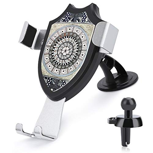 Soporte de ventilación para coche con manos libres, color gris remiendo compatible con iPhone 12/12 Pro/11 Pro Max/8 Plus y más teléfonos móviles de 4 a 6 pulgadas