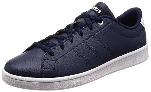 Adidas Advantage Clean Qt, Zapatillas de Deporte Mujer, Azul (Maruni/Maruni/Ftwbla 000), 44 EU