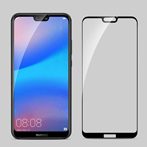 SPARIN [2 Stück Schutzfolie für Huawei P20 lite, mit [9H Härte] [Anti-Kratzen] [Blasenfrei] [2.5D Rand] [HD Klar] - 2