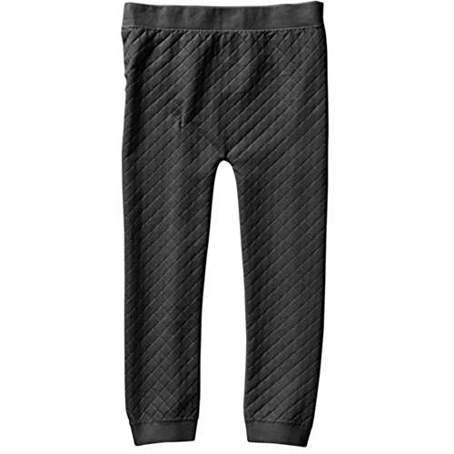 Miss Majesty Girls Quilted Seamless Leggings (7-16, Black)