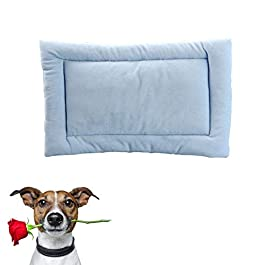 KAIKUN Dog Mat Cat Mat Cat Mat Dog Mat Dog Bed Dog Crate Bed Washable Dog Bed Dog Bed Accessories Dog Bed Small Cat Beds Warm Dog Blanket Soft Vet Bed Fluffy Cat Mat