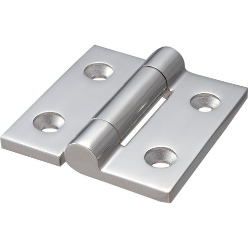 TRUSCO(トラスコ) ステンレス製重量平型蝶番 全長75mm (1個=1袋) TLS-75F