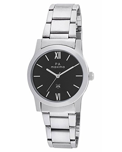 Maxima Analog Black Dial Women's Watch - O-46661CMLI
