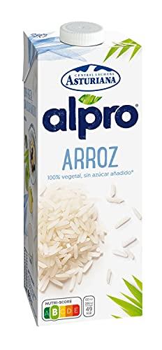 Alpro - Bebida de Arroz, 100% Vegetal, Baja en Grasas, Apta para Veganos, Brik de 1 litro, 1 x 1000ml