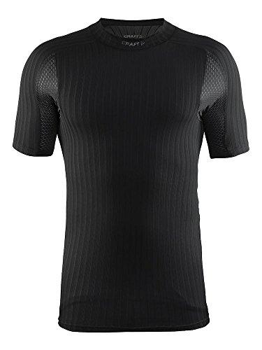 Craft Active Extreme 2.0 sous-vêtement col Rond Manches Courtes Homme, Noir, FR : S (Taille Fabricant : B: S)