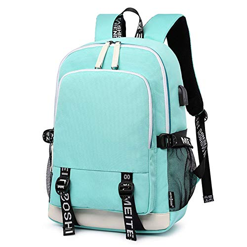 New School Bag, Men's and Women's Luminous Backpack, Fashion Backpack, Leisure and Multifunction, Rechargeable Travel Bag
