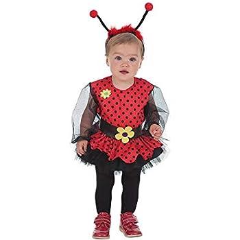LLOPIS - Disfraz Bebe Mariquita niña: Amazon.es: Juguetes y juegos