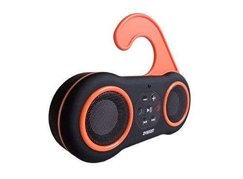 Ovboost SPHBNE Bluetooth Speaker Waterproof, Happybeach met powerbank, zwart