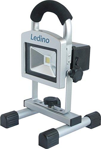 ledino LED-AKKUSTRAHLER10W LED Akku-Standstrahler ,,Köpenick 10' 140106001111