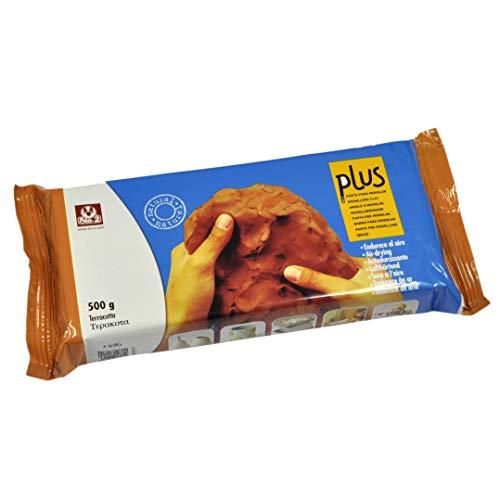 Plus 11493 Pasta per Modellare, Terracotta
