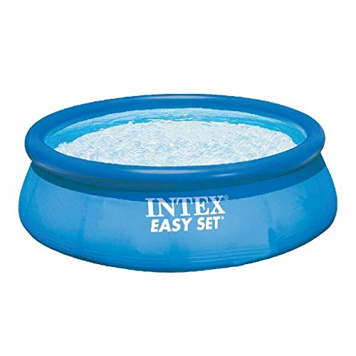 INTEX Easy Set 3,05 x 0,76 m Petite Piscine Gonflable, 3.853 liters L, Bleu, 305 x 305 x 76 cm
