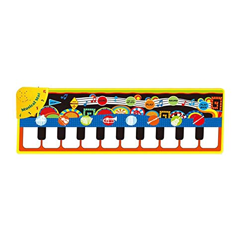 Piano Matte Tanzmatten Klaviermatte Musikmatte Kinder 5 Modi 8 Instrumente Sounds Spielzeug Musik Matte,...