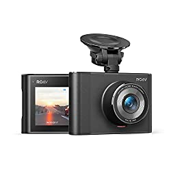 powerful Anker Roav DashCam A1, Car DVR, DVR, FHD 1080p LCD screen, Nighthawk Vision, Wide Angle Lens, WiFi, G Sensor, WDR, Loop Recording, Night Mode, Motion Detection, Dedicated App