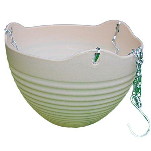 Pot en plastique par Outflower, pot à suspendre ou à poser, décoration de la maison, Plastique, beige, 13*20CM