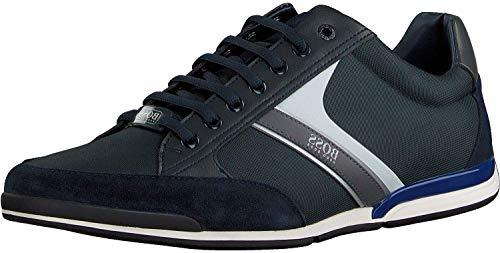 BOSS Herren Saturn_Lowp_mx Sneaker, Dark Blue408, 39 EU, 6 UK