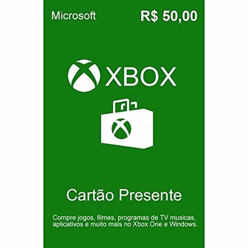 Cartão Presente - R$50 - Xbox
