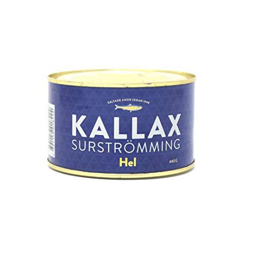 Kallax Surströmming - Lata de arenque fermentado, 440g.
