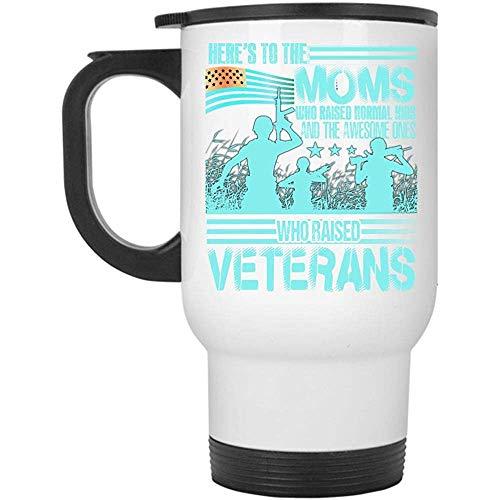 Little Yi Tasse de Voyage pour Anciens Combattants élevés, Ici 'S aux Mamans Qui Ont soulevé Une Tasse pour Enfants Normale