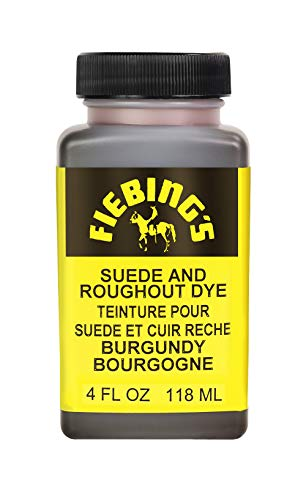 Fiebing's Suede Dye - Recolor, Brighten and Restore Suede and Rough-out Leather - Burgundy