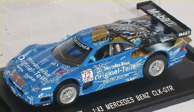Mercedes-Benz Clk-gtr Clk Gtr 24 H Le Mans Blau Nr 12 1/43 High Speed Modellauto Modell Auto