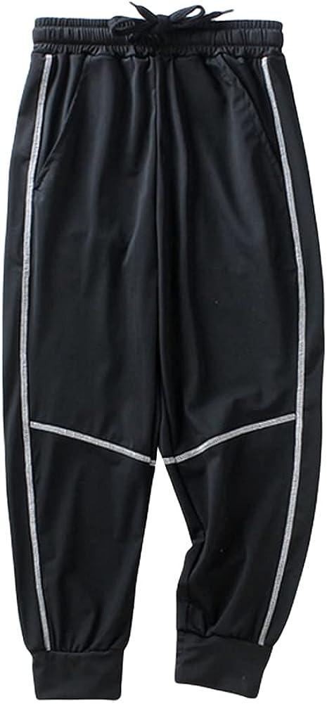 Weixinbuy Kid Boys Girls Pants Regular Fit Joggers School Track Pants Jogging Pants Trousers Sweatpants with Pockets