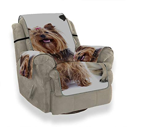 Warm Smart Cute Clever Tier Haustier Schonbezug Ohrensessel Sofakissen Elastische Abdeckung Tcushion Sofabezug 21
