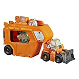 Transformers Playskool Heroes Rescue Bots Academy Command Center Wedge -- Converting Action Figure Toy with Trailer and Light-Up Accessory