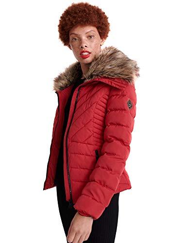 Superdry W5000007A Chaqueta Abajo Mujeres Rojo XL