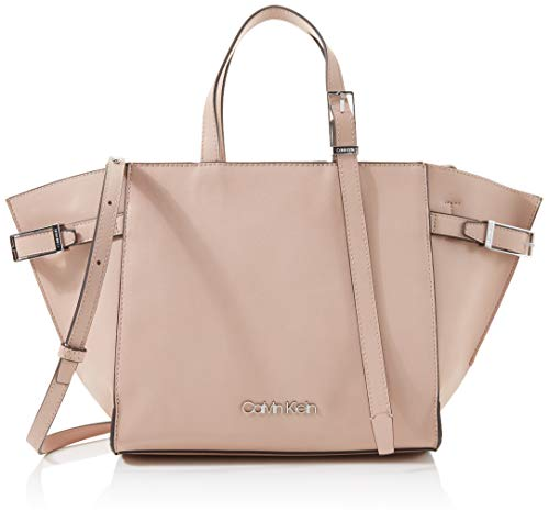 Calvin Klein - Extended Tote, Bolsos totes Mujer, Rosa (Nude), 1x1x1 cm (W x H L)