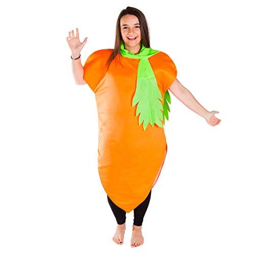Bodysocks Disfraz de Zanahoria Adulto