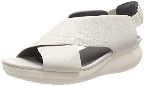 Camper Women's Slingback Sling Back Sandals, Beige Light Beige 270, 37