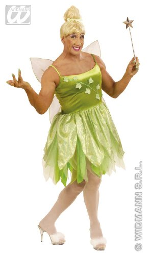 Widmann wdm5706l–Kostüm für Erwachsene Fee der Wälder, grün, XL