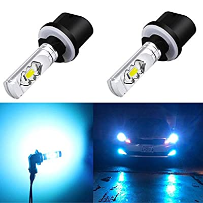 Alla Lighting 3800lm 899 880 LED Fog Light Bulbs Xtreme Super Bright 892 880 LED Bulb ETI 56-SMD LED 880 Bulb for Auto Motorcycle Cars Trucks SUV Fog DRL Lights, 8000K Ice Blue
