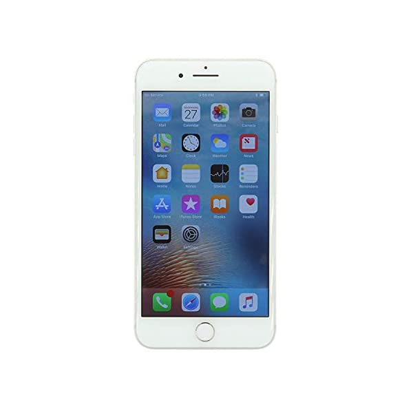Apple iPhone 8 Plus, 64GB, Silver - For Sprint (Renewed) Front Screen Display