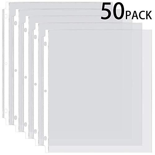 200 Pcs Sheet Protectors Sleeves Album Binder Paper Holder Storage Non Vinyl