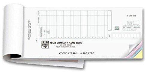 Carbonless Deposit Ticket Book (2PART)
