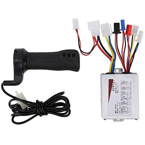 Keenso 12V 500W Electric Bicycle Throttle Motor Brushed Speed Controller & Throttle Grip For Electric Bicycle Scooter E‑Bike
