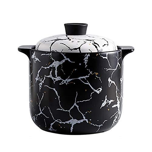 Gusstopf Cocotte Cocotte casserole en fonte émaillée résistant aux températures et aux températures élevées avec couvercle, marbre, faitout et cuisinière à gaz universel stylename 4.5L couleur