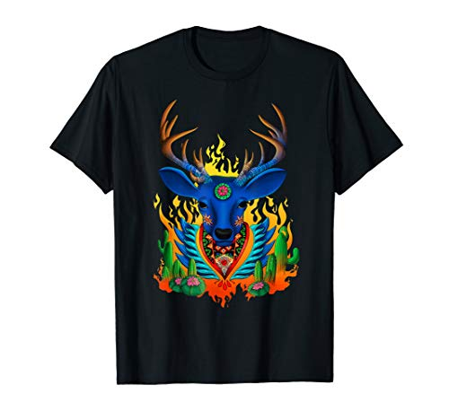 Third Eye Huichol Deer