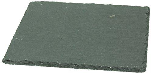 Tognana R390220ARDE Teller aus Schiefer, 20 x 20 cm