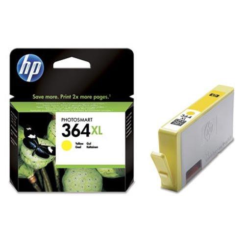 HP Cartucho de tinta original 364 XL amarillo CB325EE HP364XL compatible con HP Deskjet Officejet Photosmart